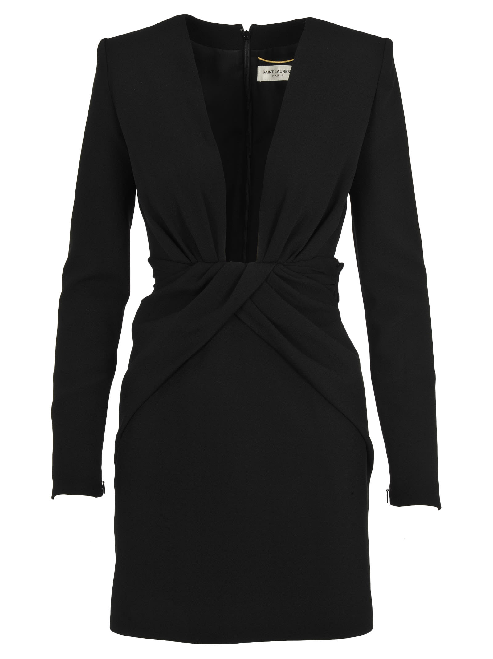 Saint Laurent V-neck Dress