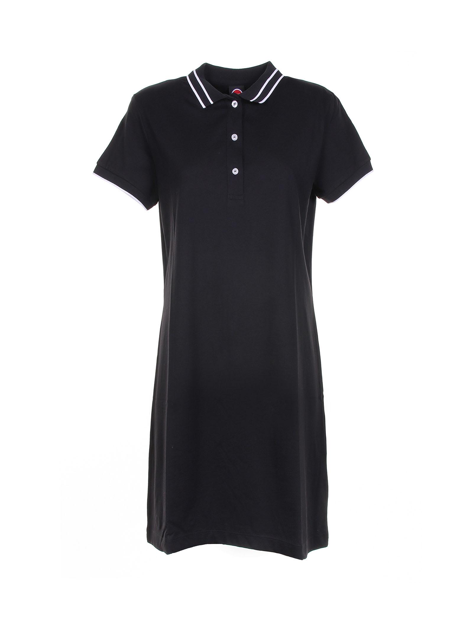 Buy Colmar Black Cotton Dress online, shop Colmar with free shipping