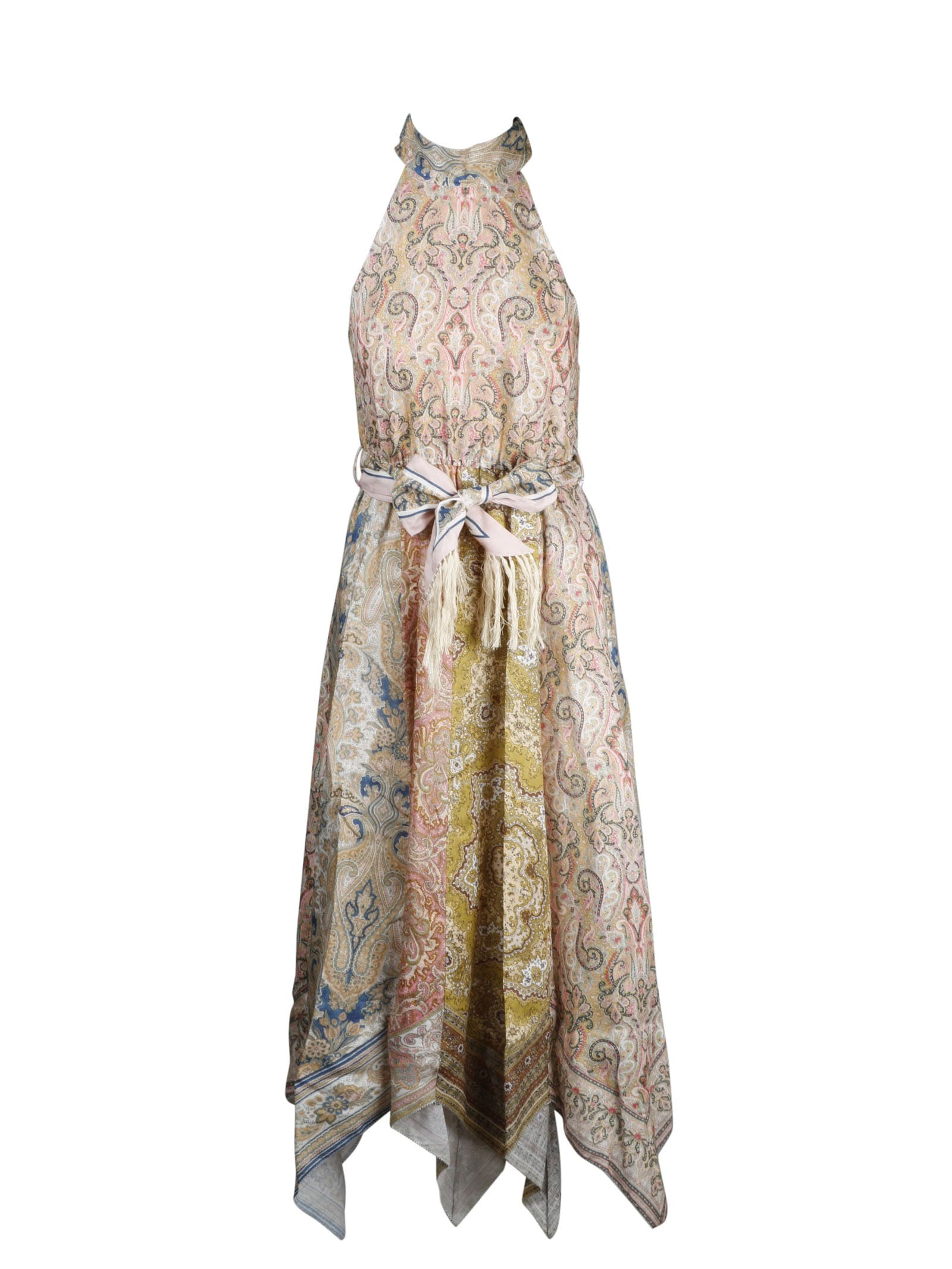 Buy Zimmermann Freja Hankey Hem Maxi Dress online, shop Zimmermann with free shipping