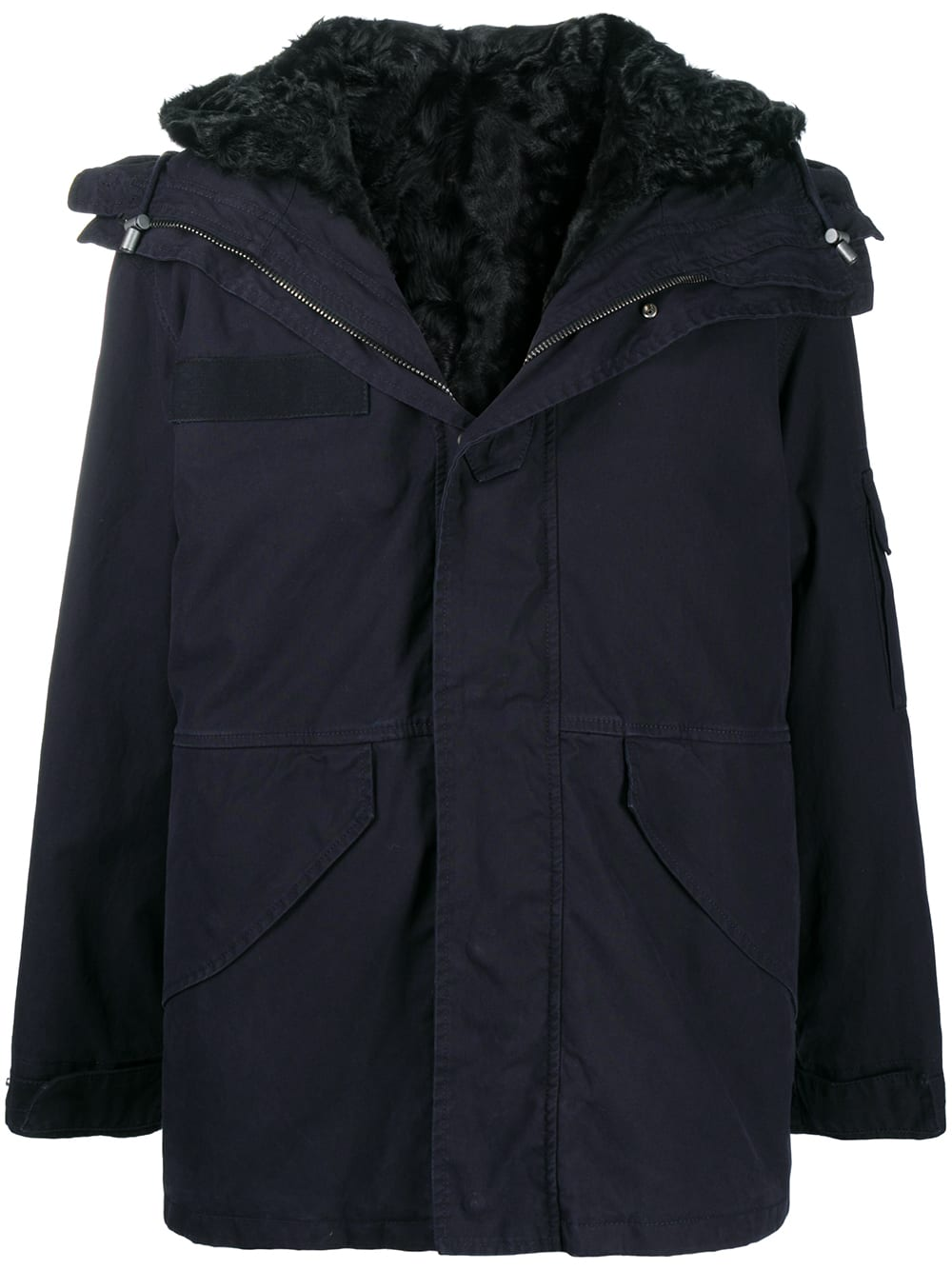 MR & MRS ITALY CORTINA MINI PARKA WITH FUR