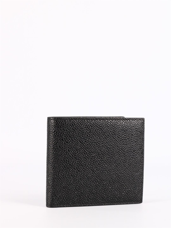 Thom Browne Wallets BLACK BI-FOLD WALLET