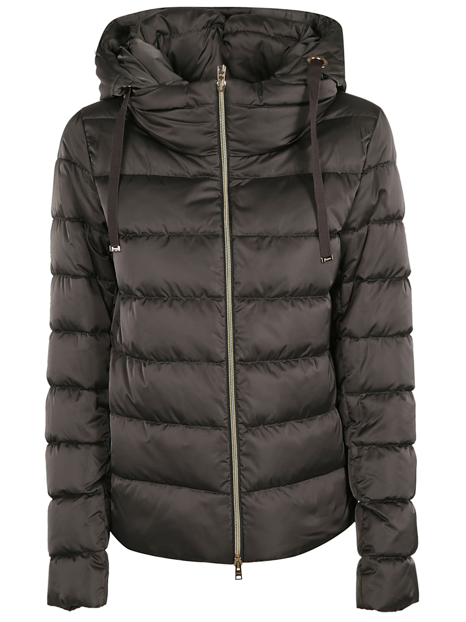 Herno Drawstring Zipped Padded Jacket