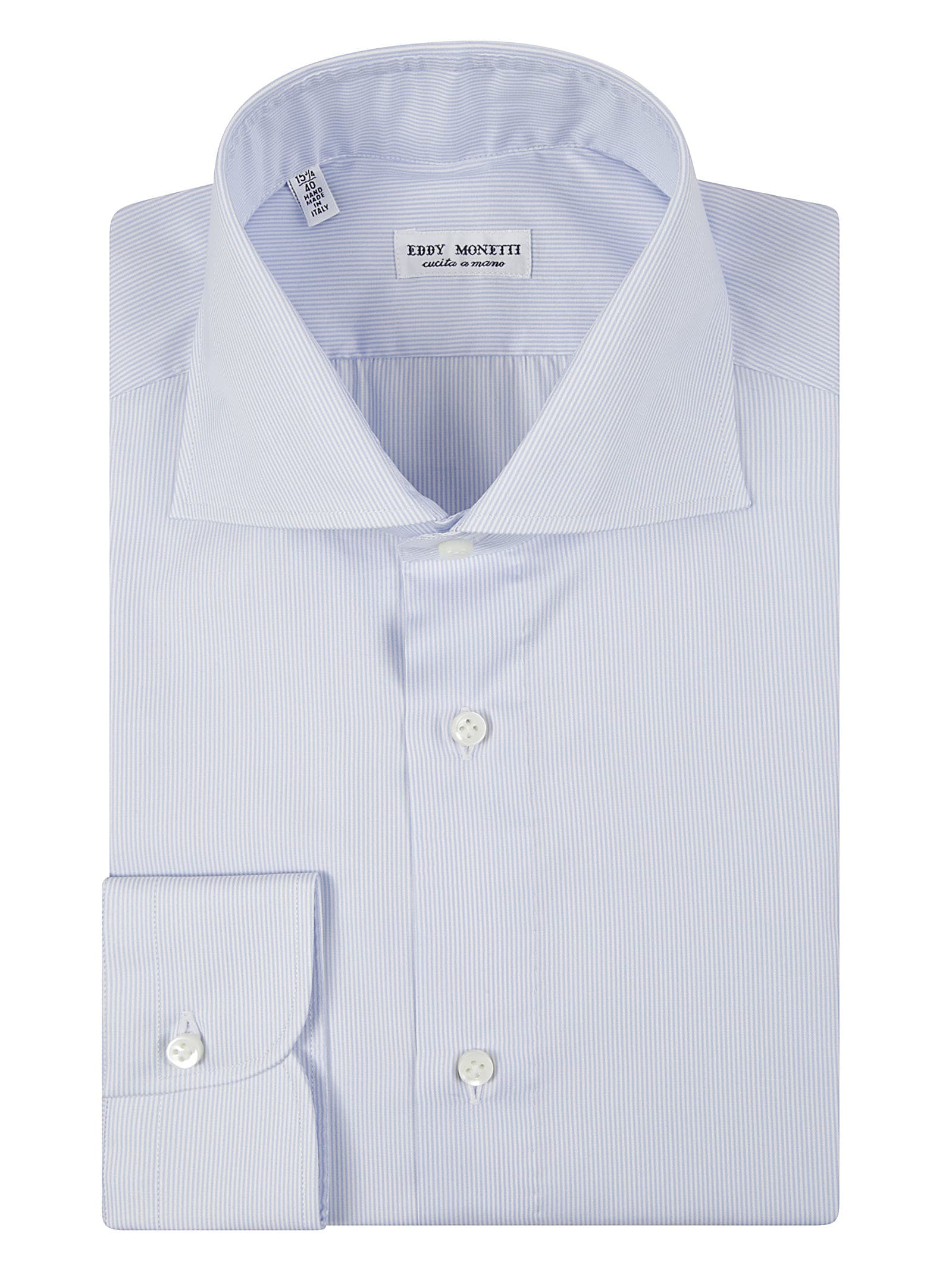 French Collar Striped Shirt