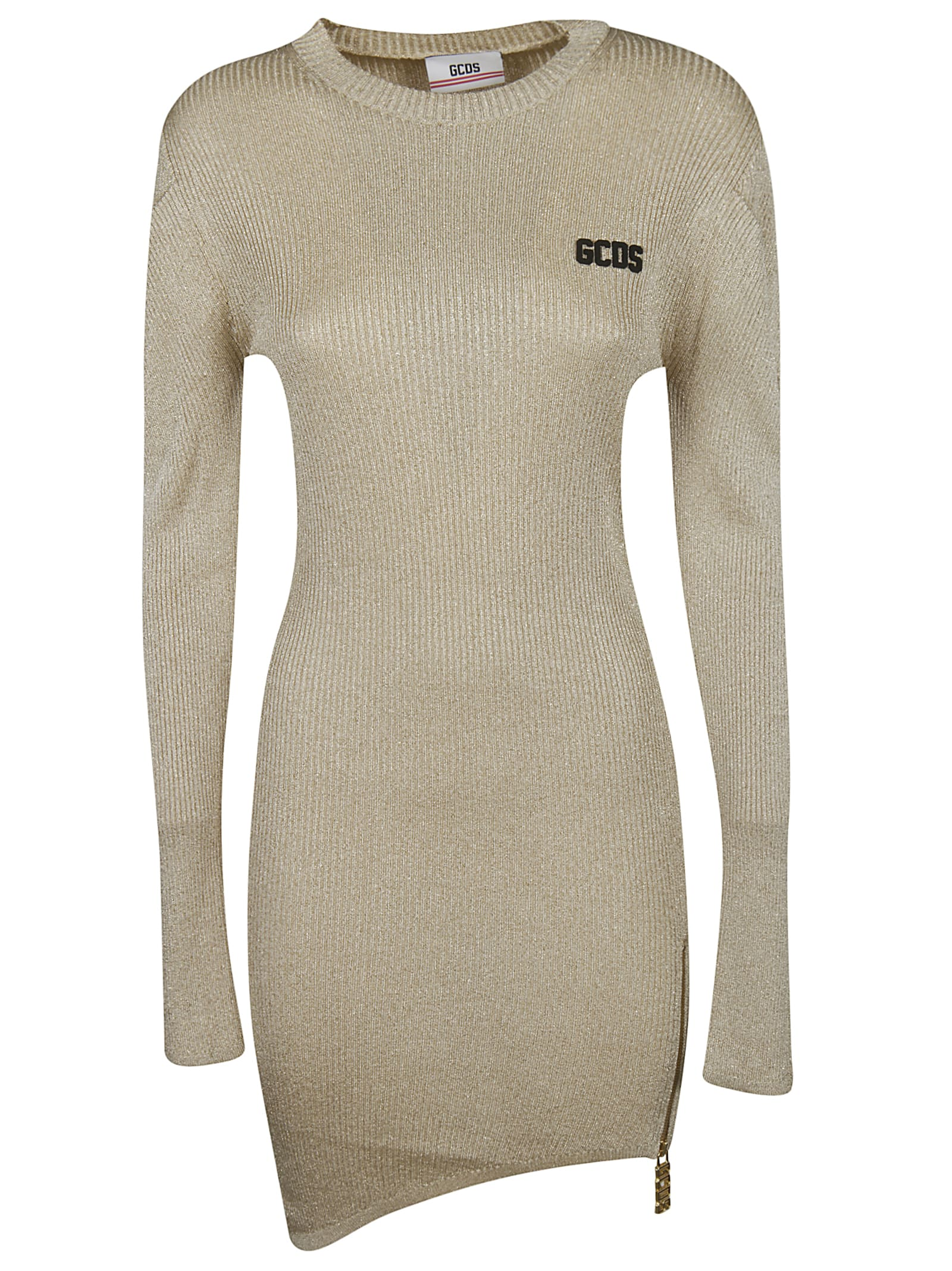 GCDS Logo Patch Sweater Dress