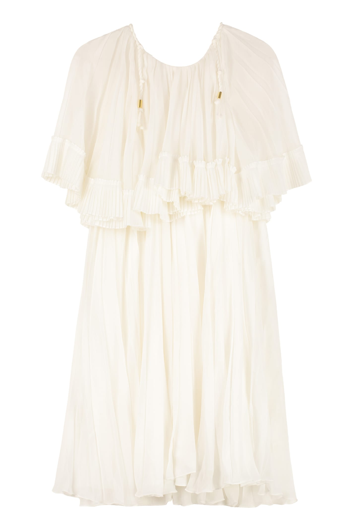Buy Chloé Pleated Dress online, shop Chloé with free shipping
