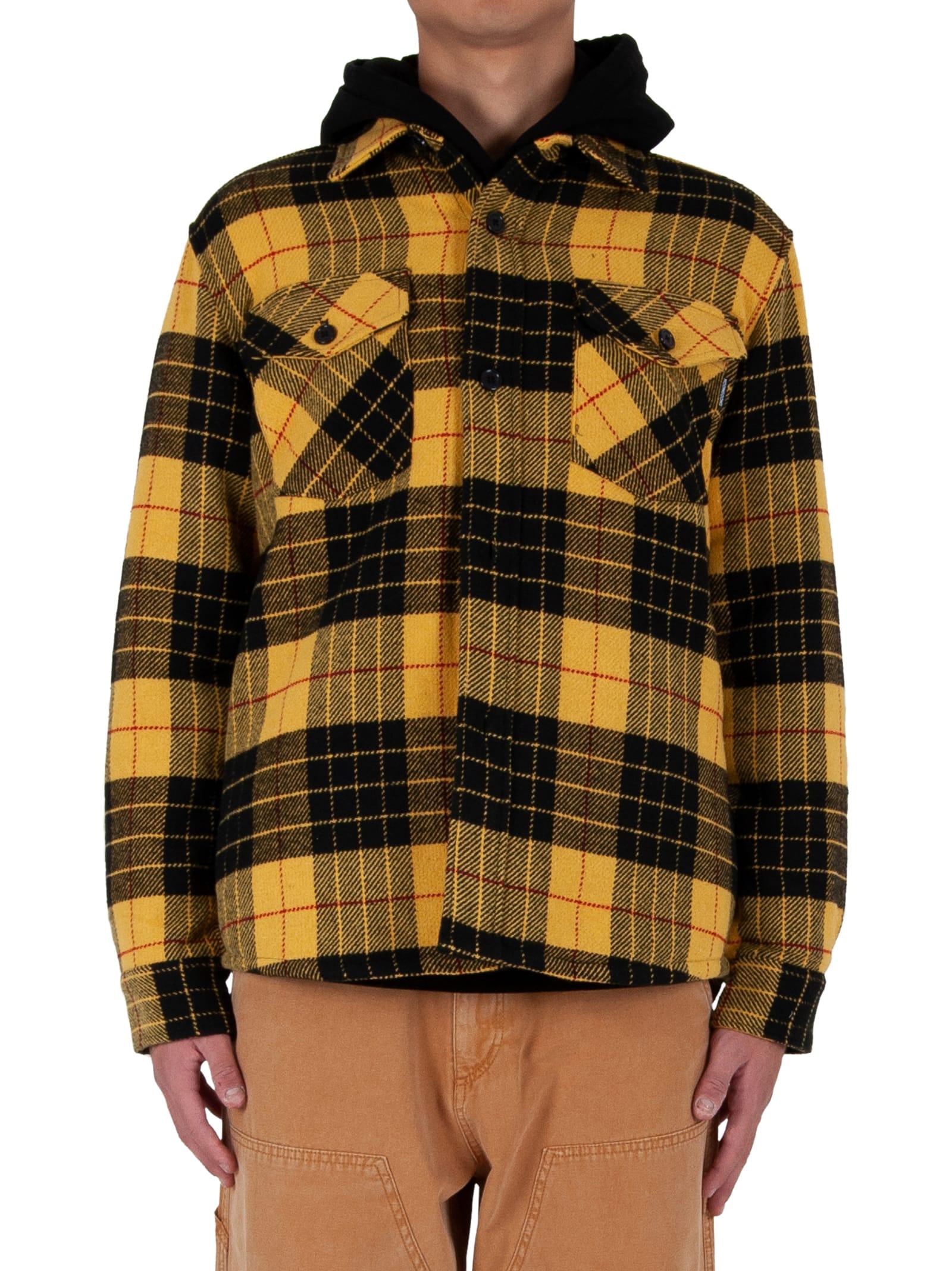 Mullen Tartan Flannel Shirt - Yellow/black
