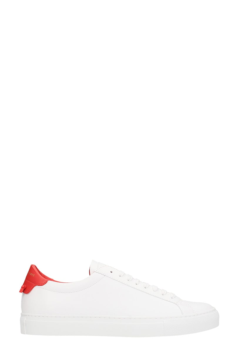 Givenchy Urb St Lo Snk White Leather Sneakers