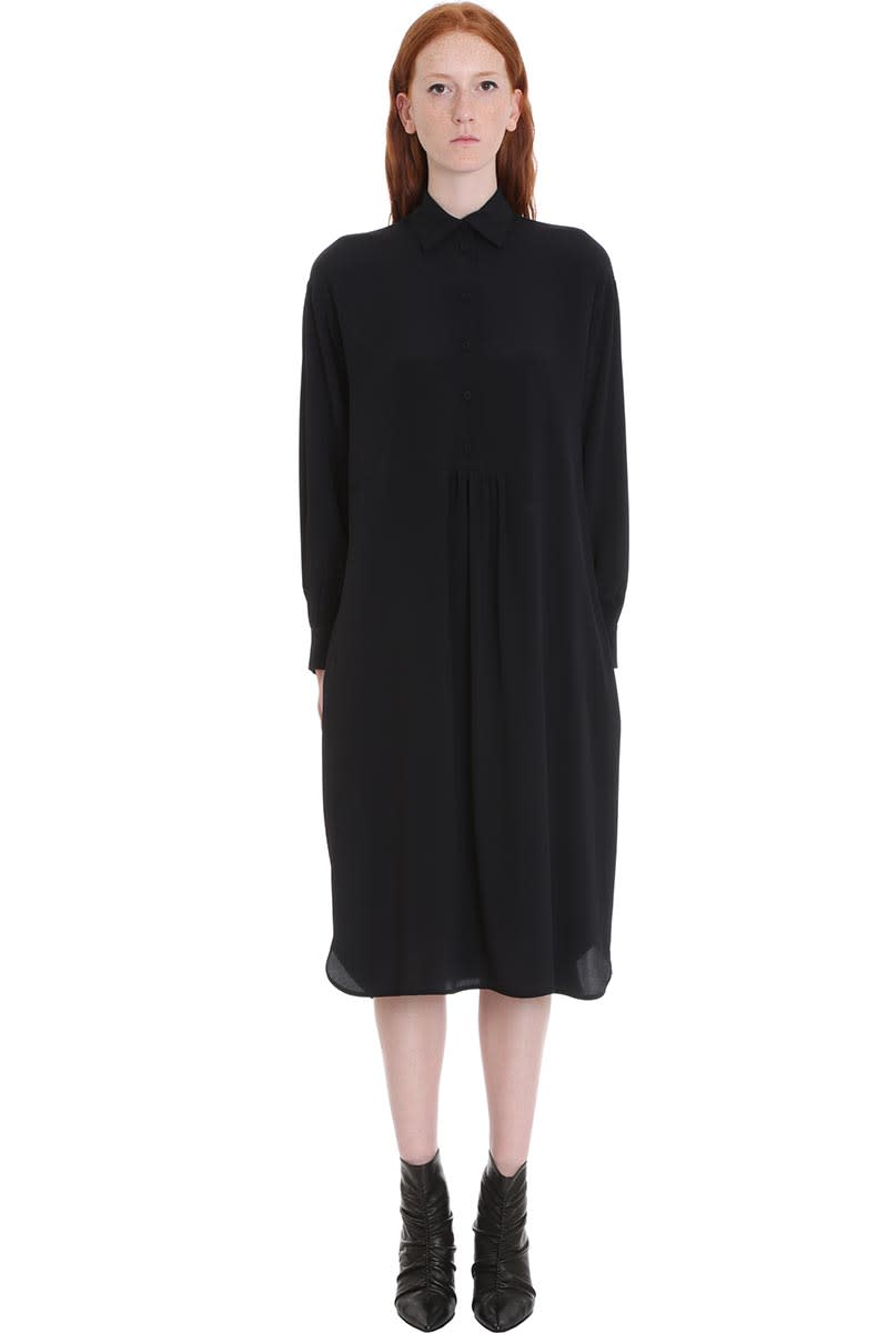 Mauro Grifoni Dress In Black Tech & synthetic