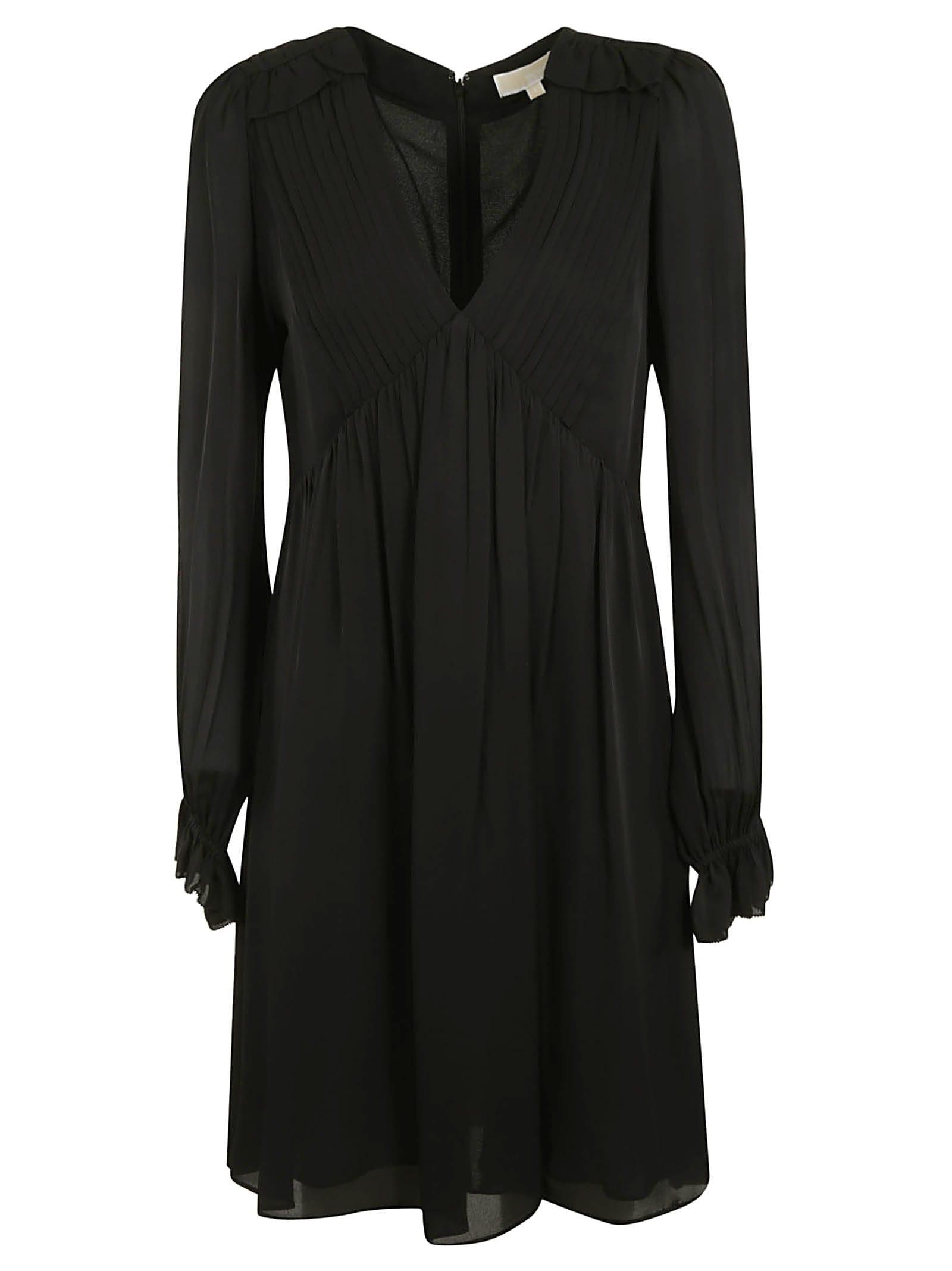 Photo of  Michael Kors V-neck Dress- shop Michael Kors  online sales