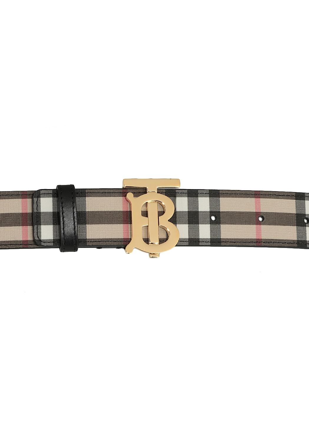 Burberry Belts MONOGRAM MOTIF BELT