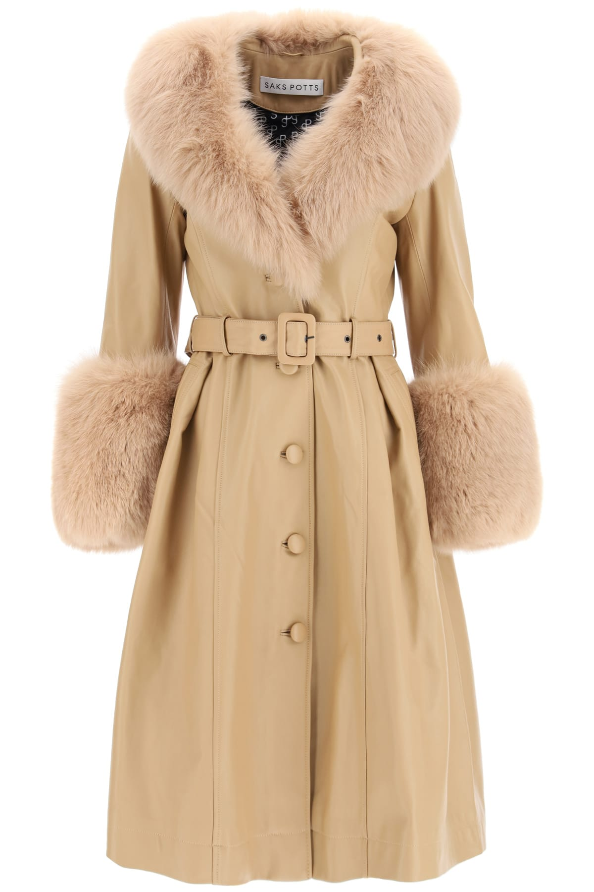 Saks Potts FOXY LEATHER COAT