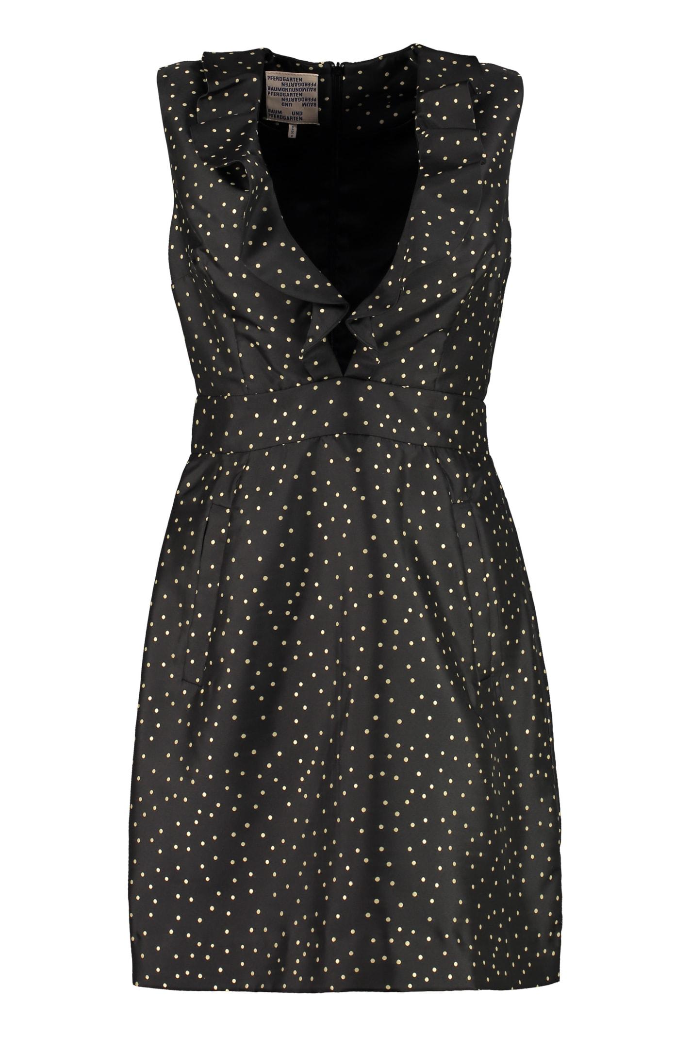 Buy Baum und Pferdgarten Abee Polka-dot Print Mini-dress online, shop Baum und Pferdgarten with free shipping