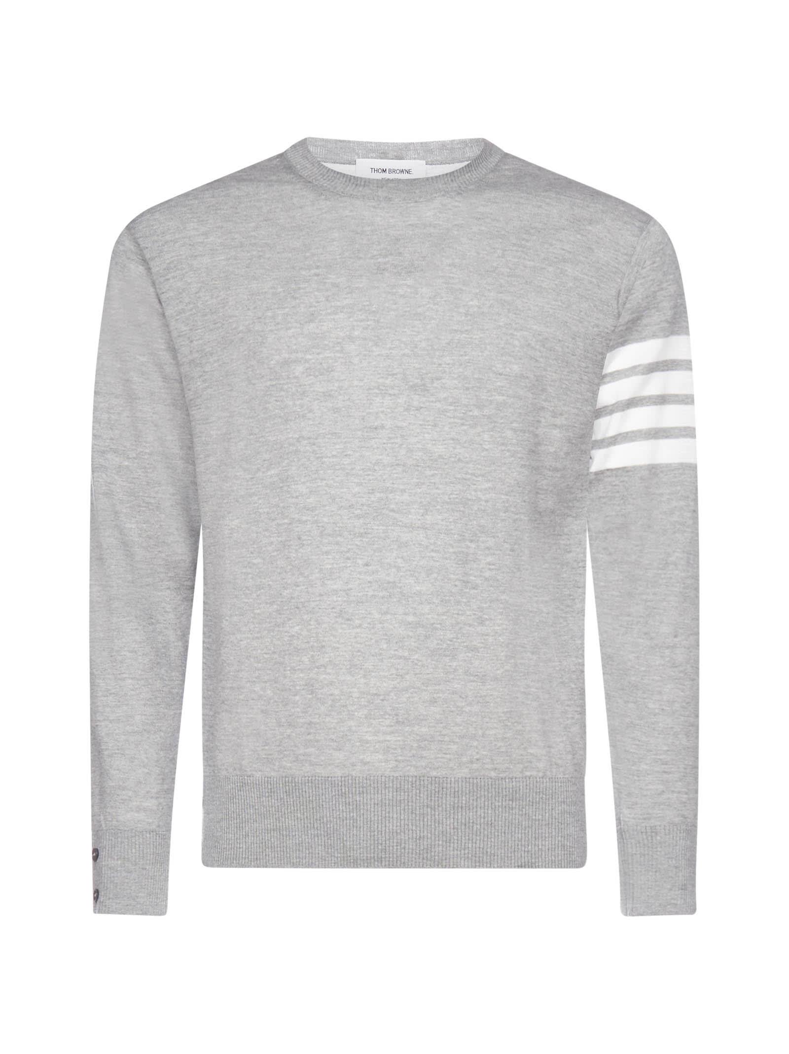 Thom Browne 4-bar Merino Wool Sweater