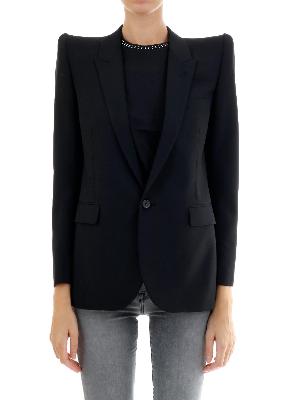 Saint Laurent Pagoda-shoulder Jacket