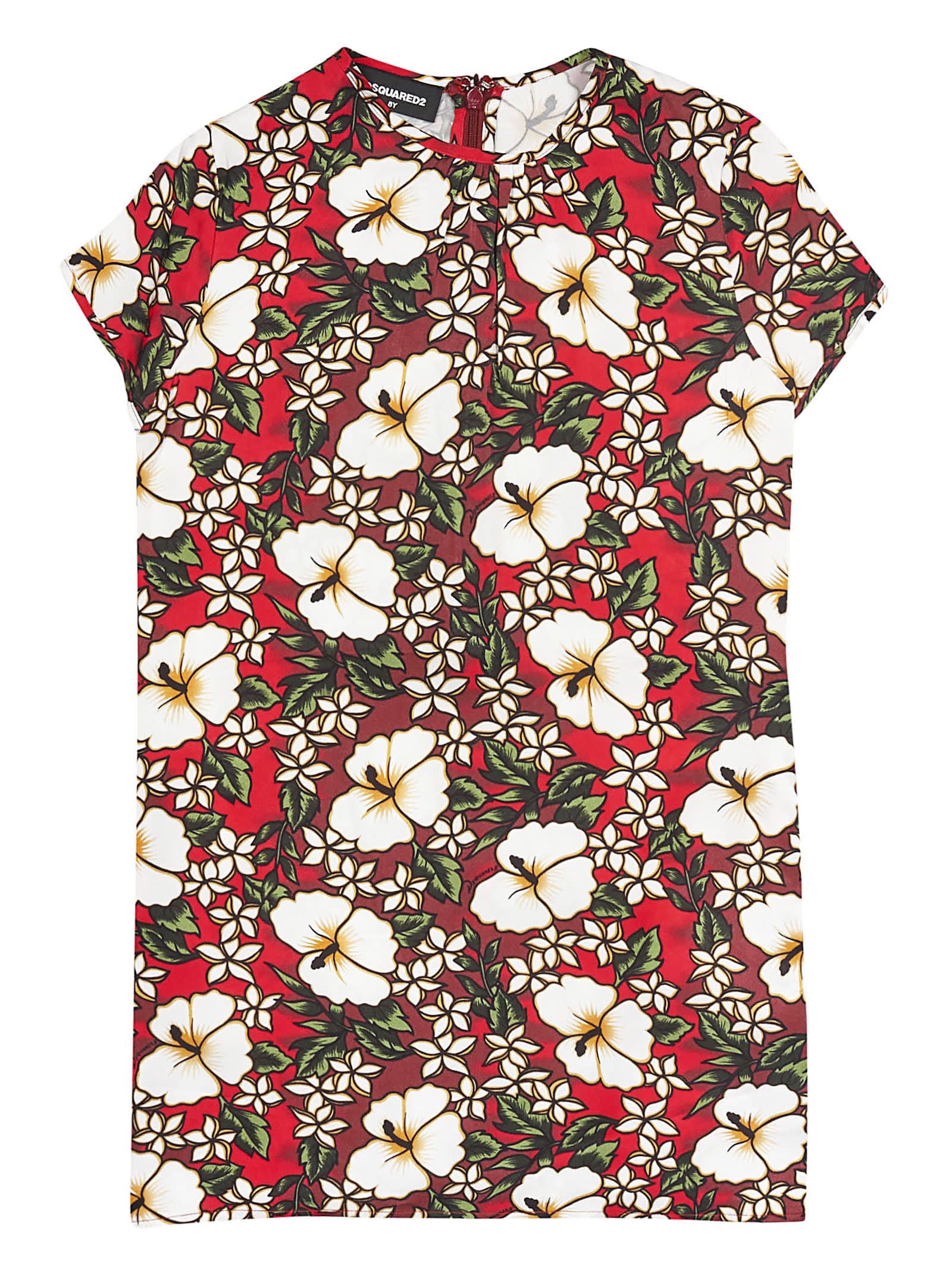 Dsquared2 Hibiscus Print Dress