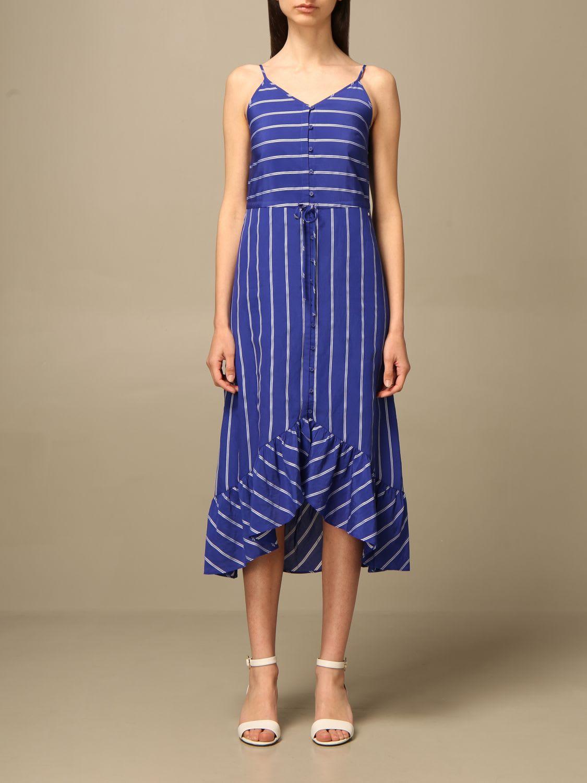 Buy Armani Collezioni Armani Exchange Dress Dress Women Armani Exchange online, shop Armani Collezioni with free shipping