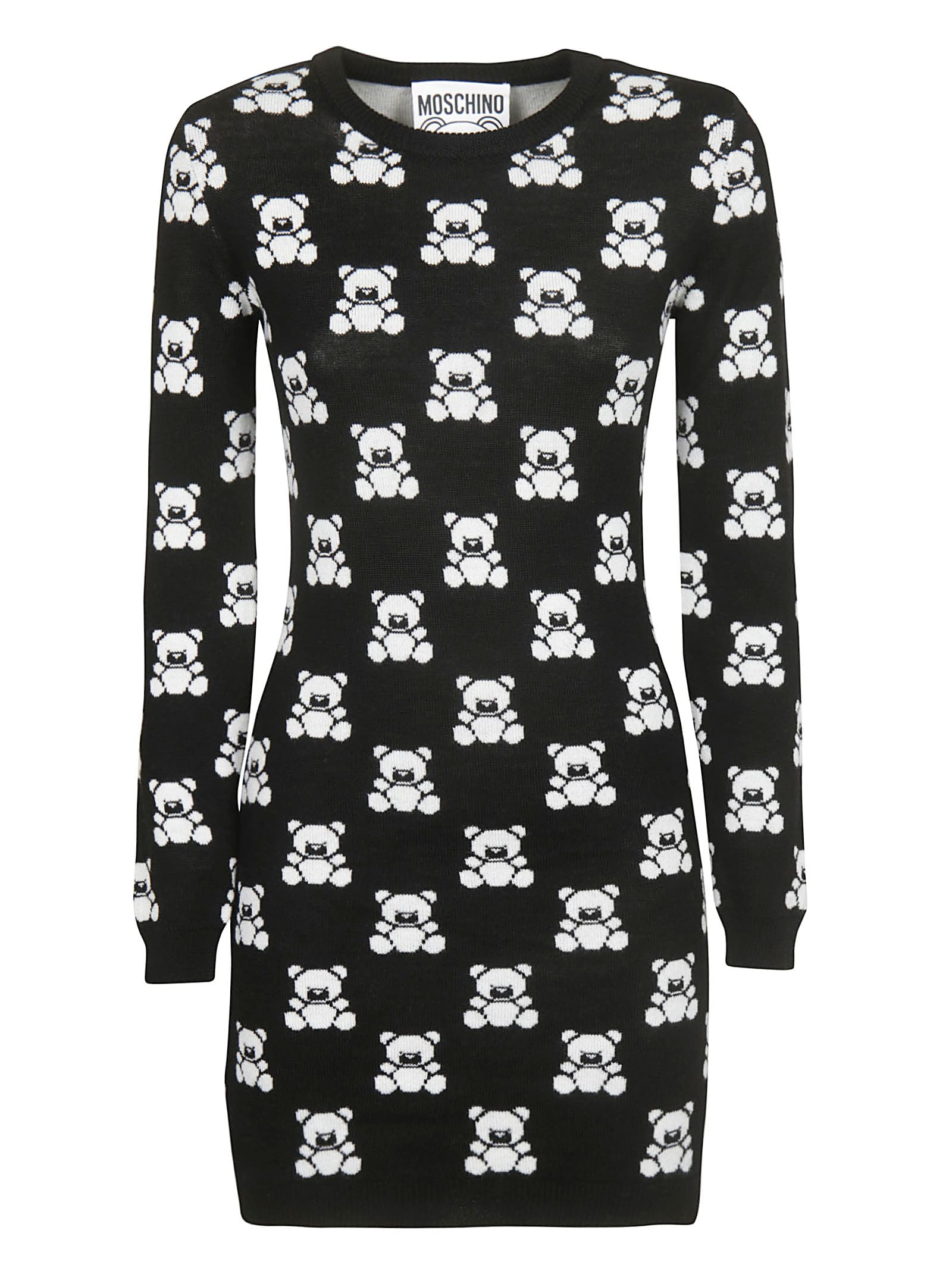 Moschino Teddy Intarsia Dress