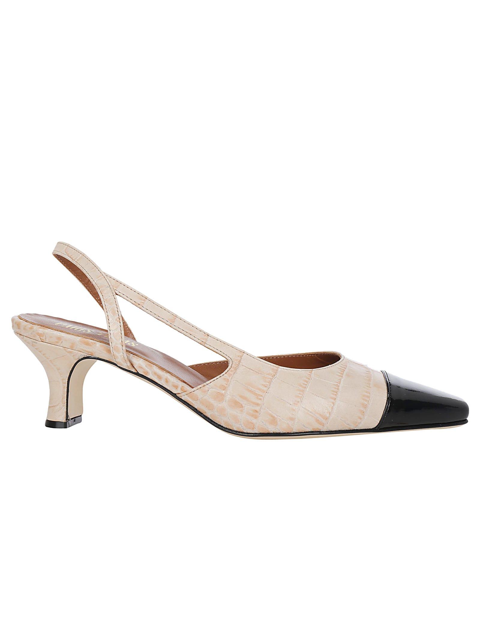 Paris Texas Slingback Sandals