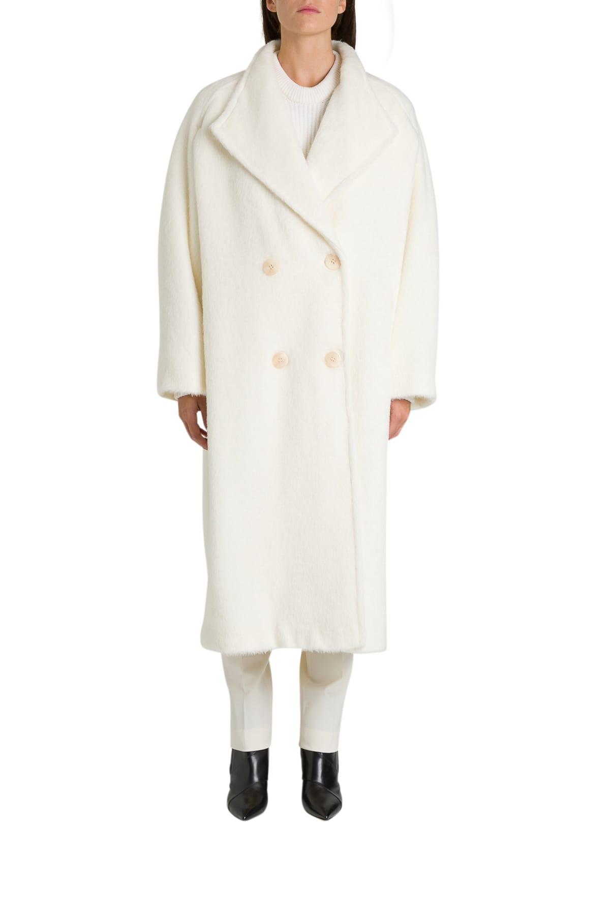 Alberta Ferretti Oversized Double-breasted Coat