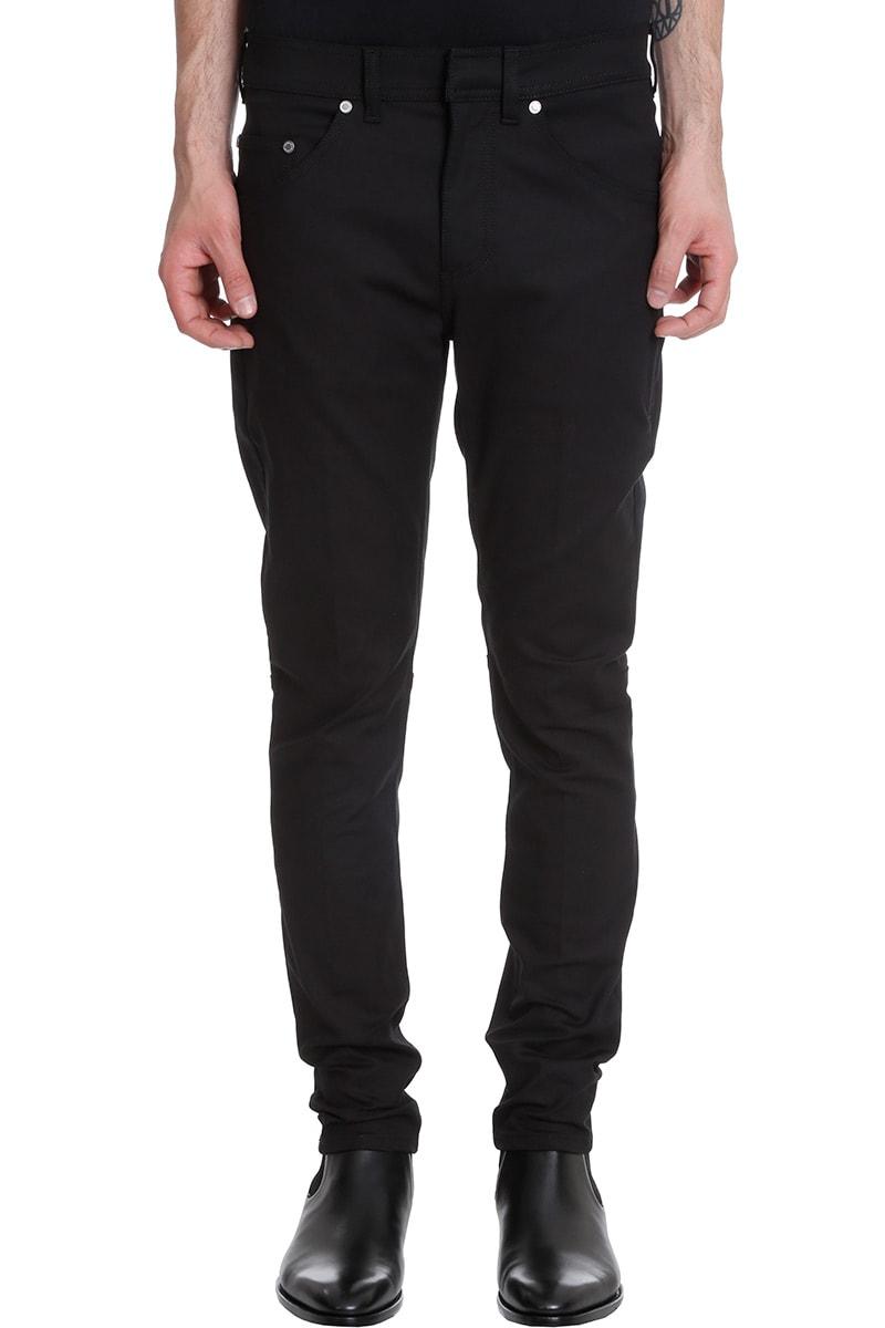 Neil Barrett Pants In Black Cotton