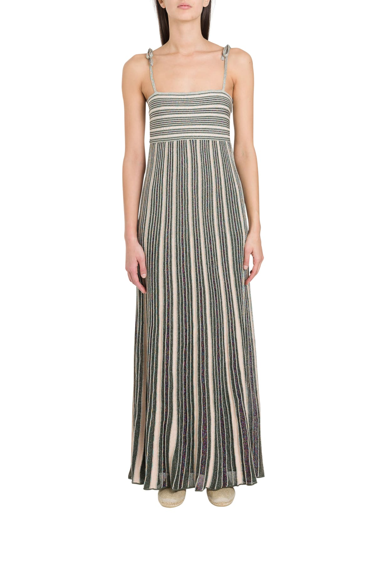 Buy M Missoni Ribbed Lurex Knit Dress online, shop M Missoni with free shipping