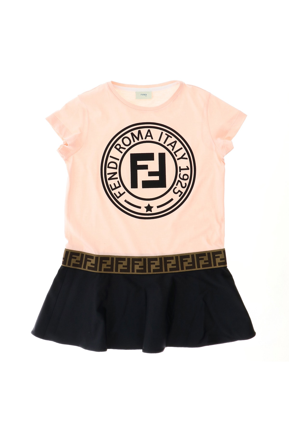Fendi Fendi Stamp T-shirt Dress