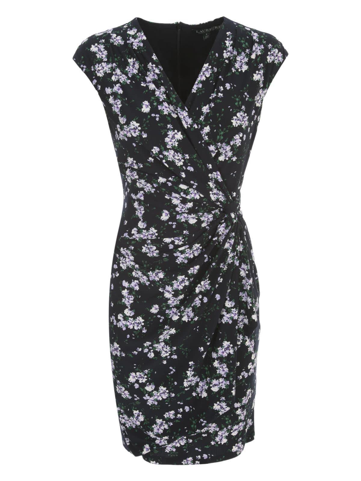 Buy Ralph Lauren Rodya Cap Dress online, shop Ralph Lauren with free shipping