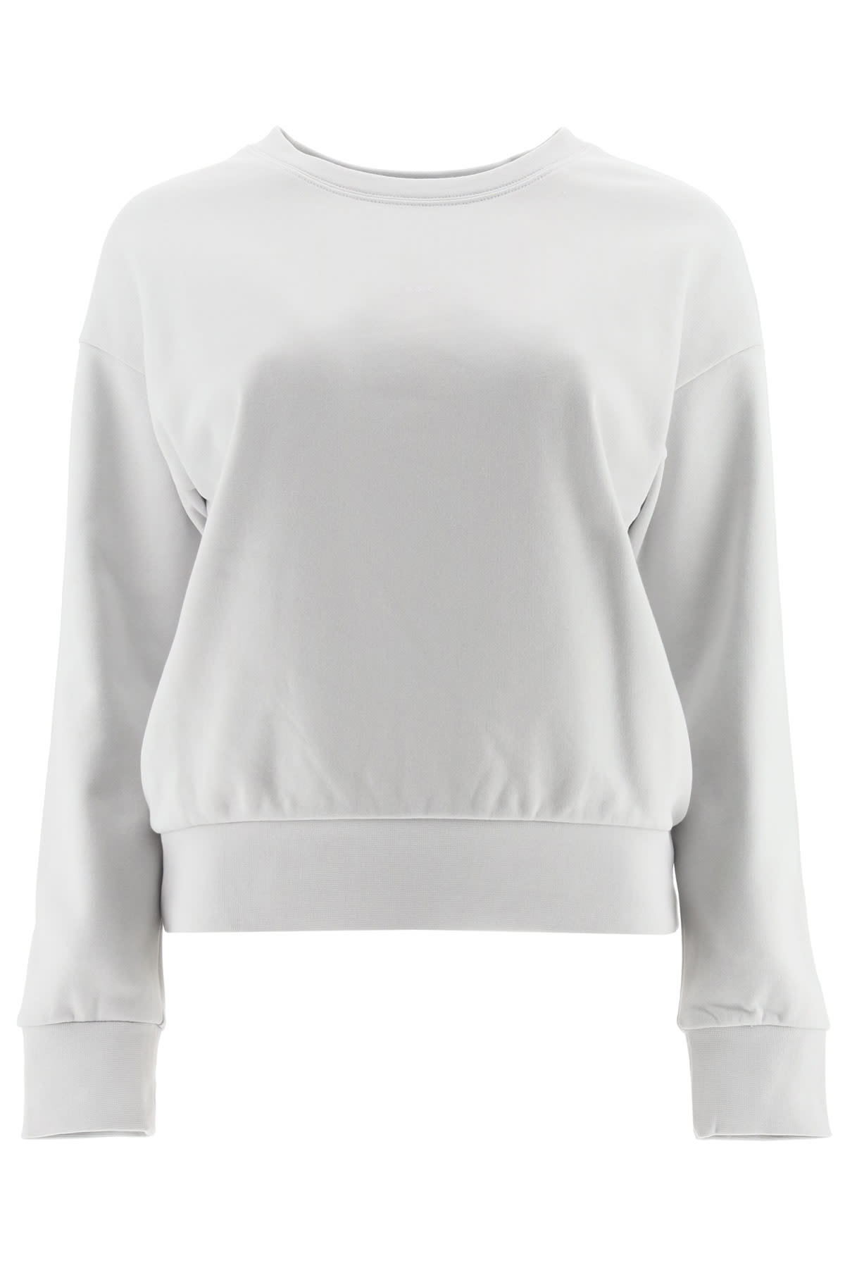 A.p.c. ANNIE SWEATSHIRT WITH MICRO LOGO