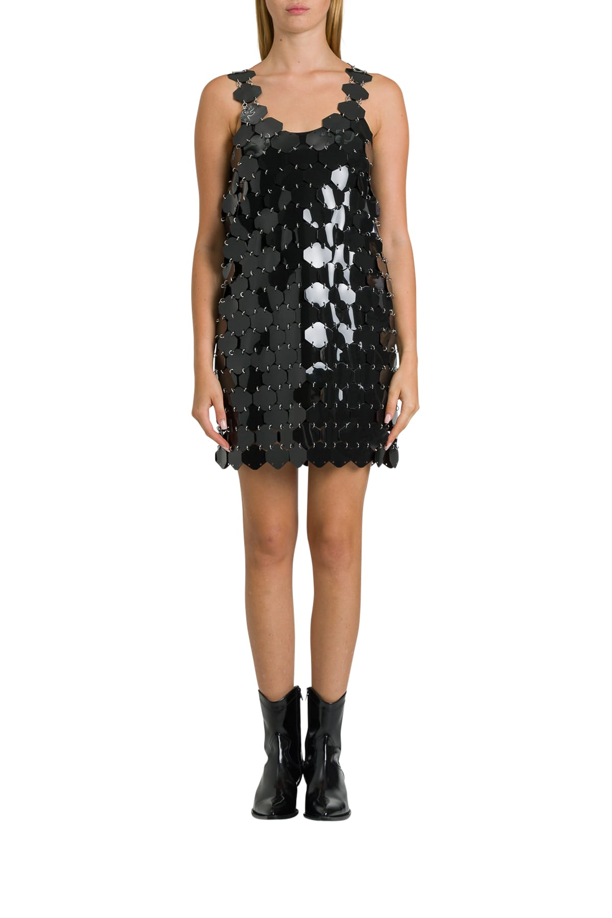 Paco Rabanne Maxi Sequins Minidress