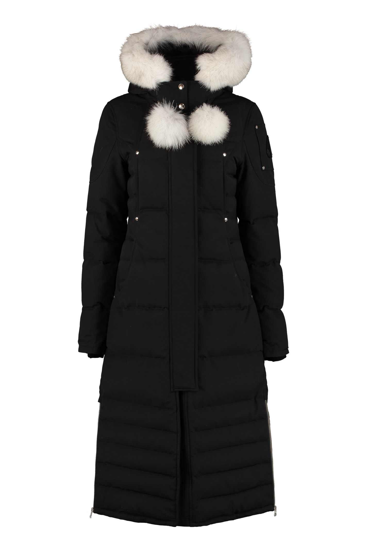Moose Knuckles Saskatchewan Padded Parka With Fur Hood