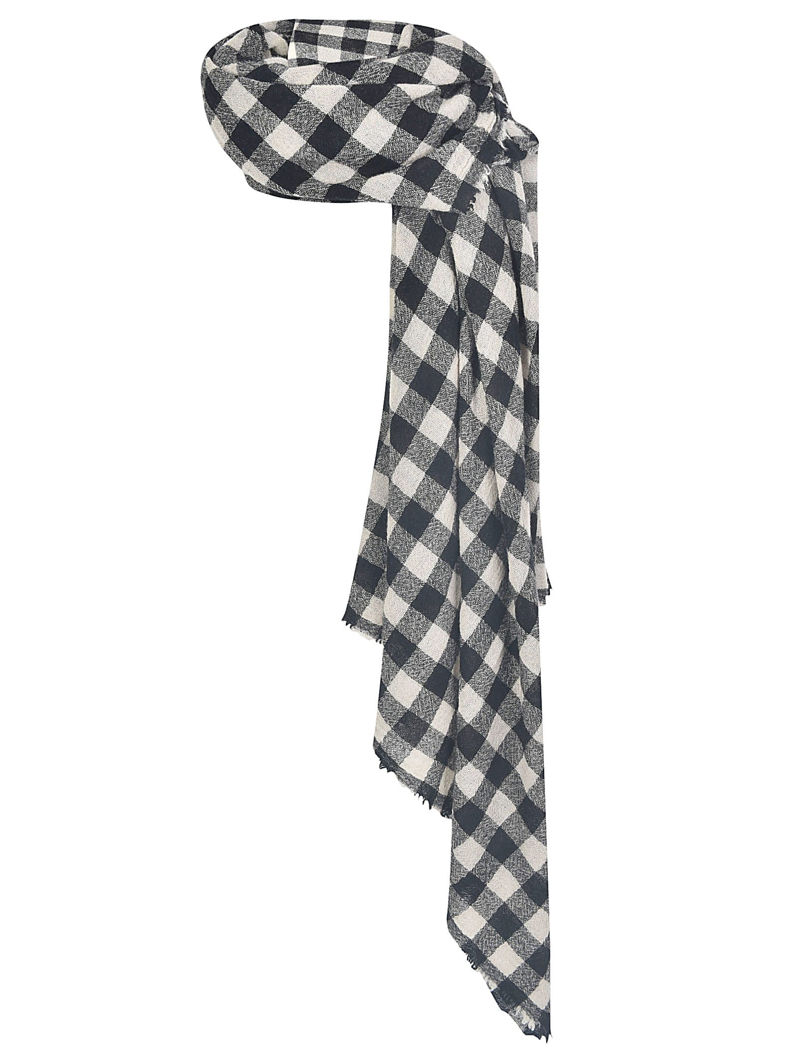 A Punto B CHECKED SCARF