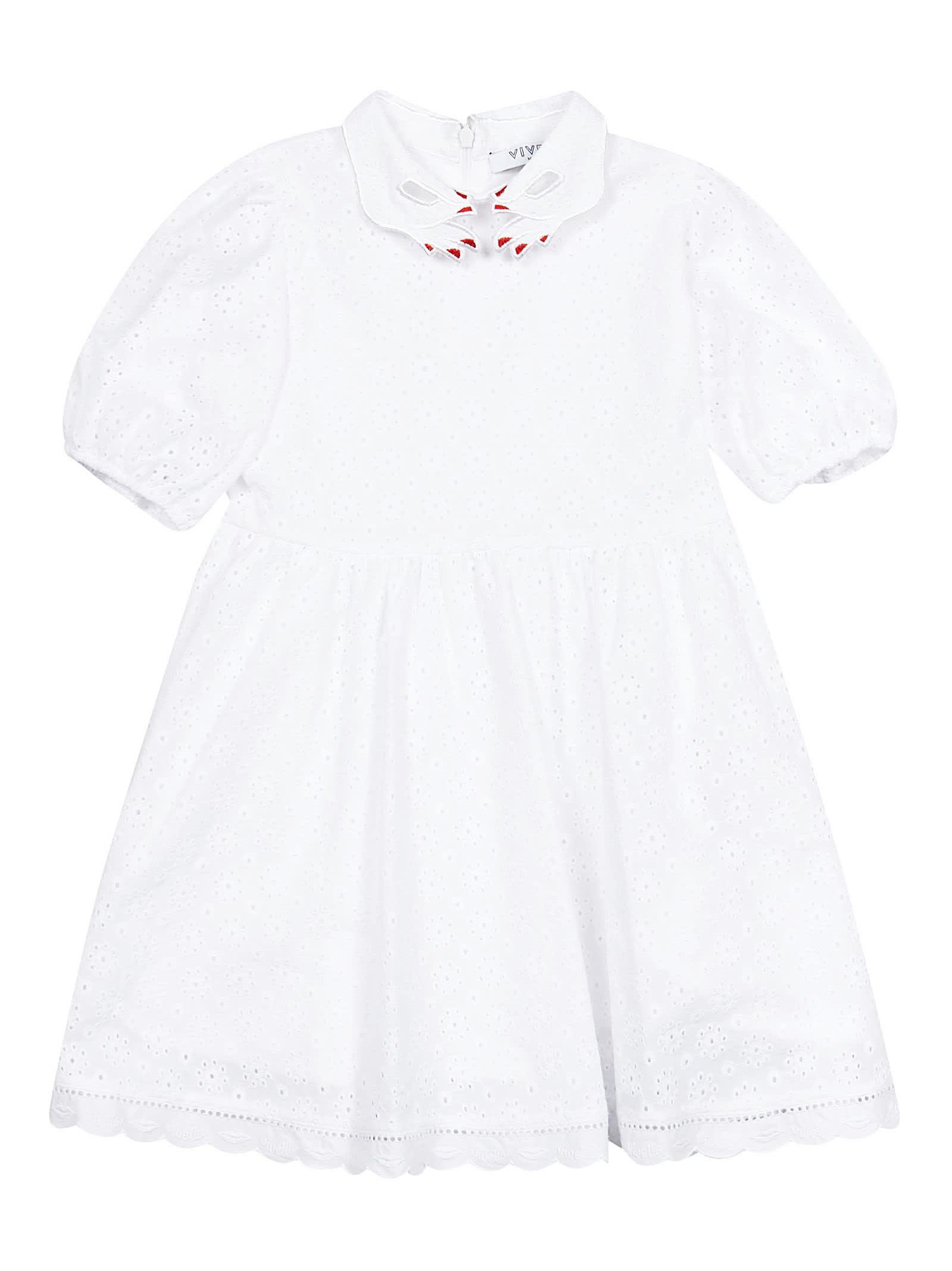 Vivetta Kids Handcollar Dress