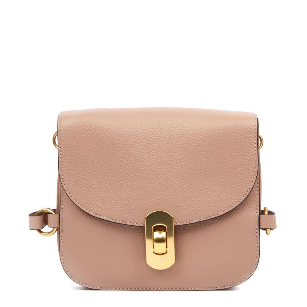 Markenqualität vorbestellen Schnelle Lieferung Coccinelle Coccinelle Zaniah Mini Peony Leather Bag - Peony ...