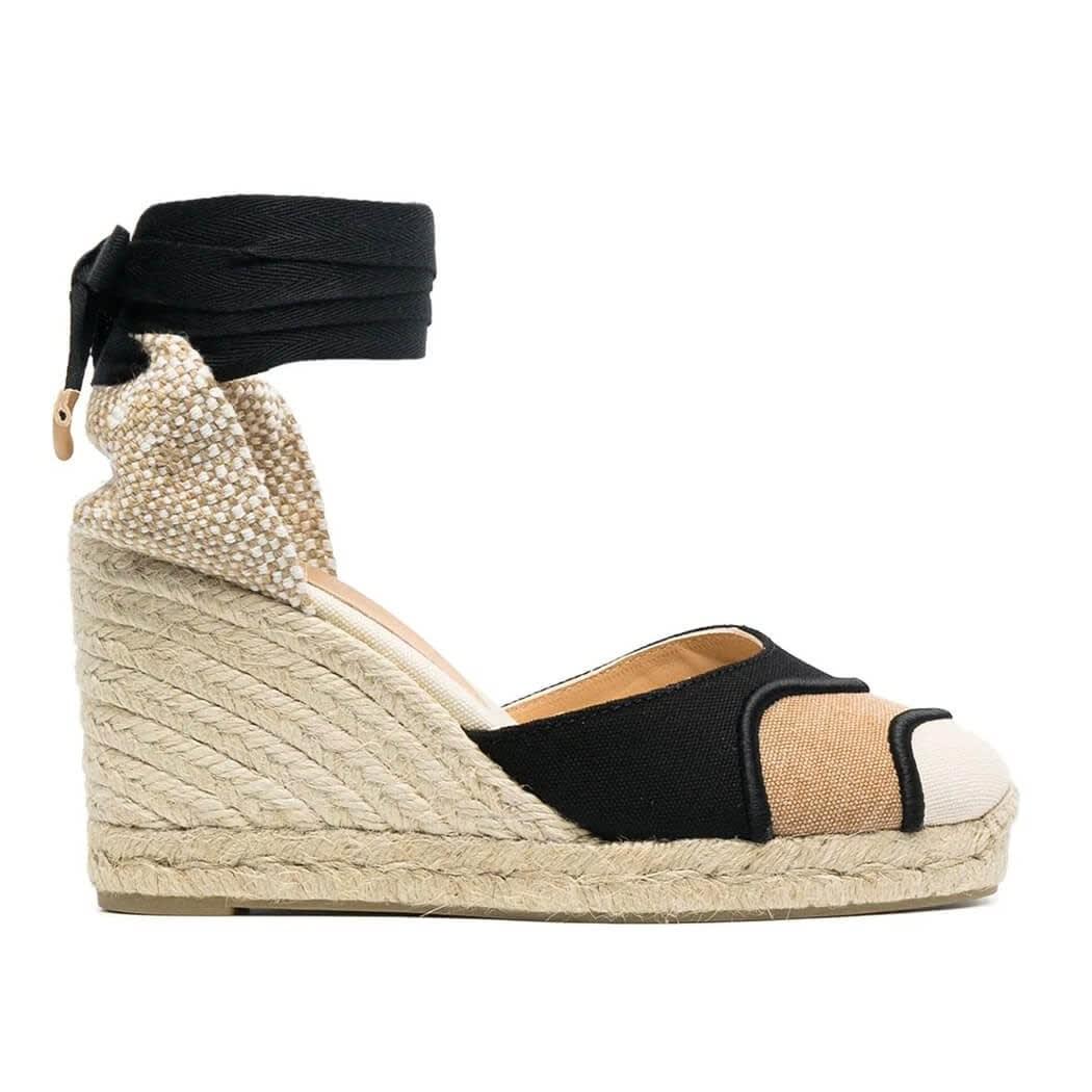 Castaã±er High heels CASEY MULTICOLOR ESPADRILLES WITH WEDGE