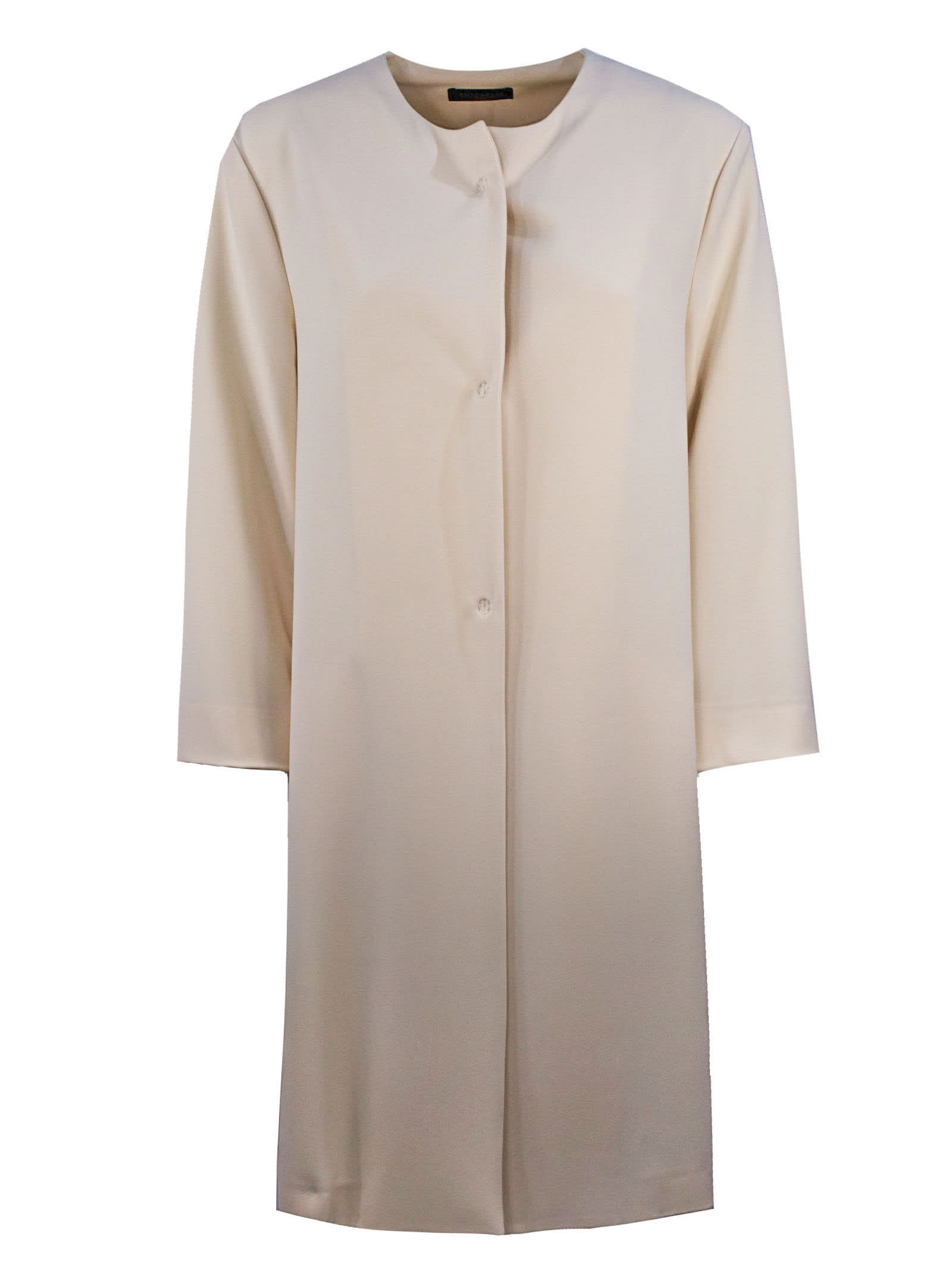 Buy Antonelli Dress In Soft Cream-tone Fabric online, shop Antonelli with free shipping