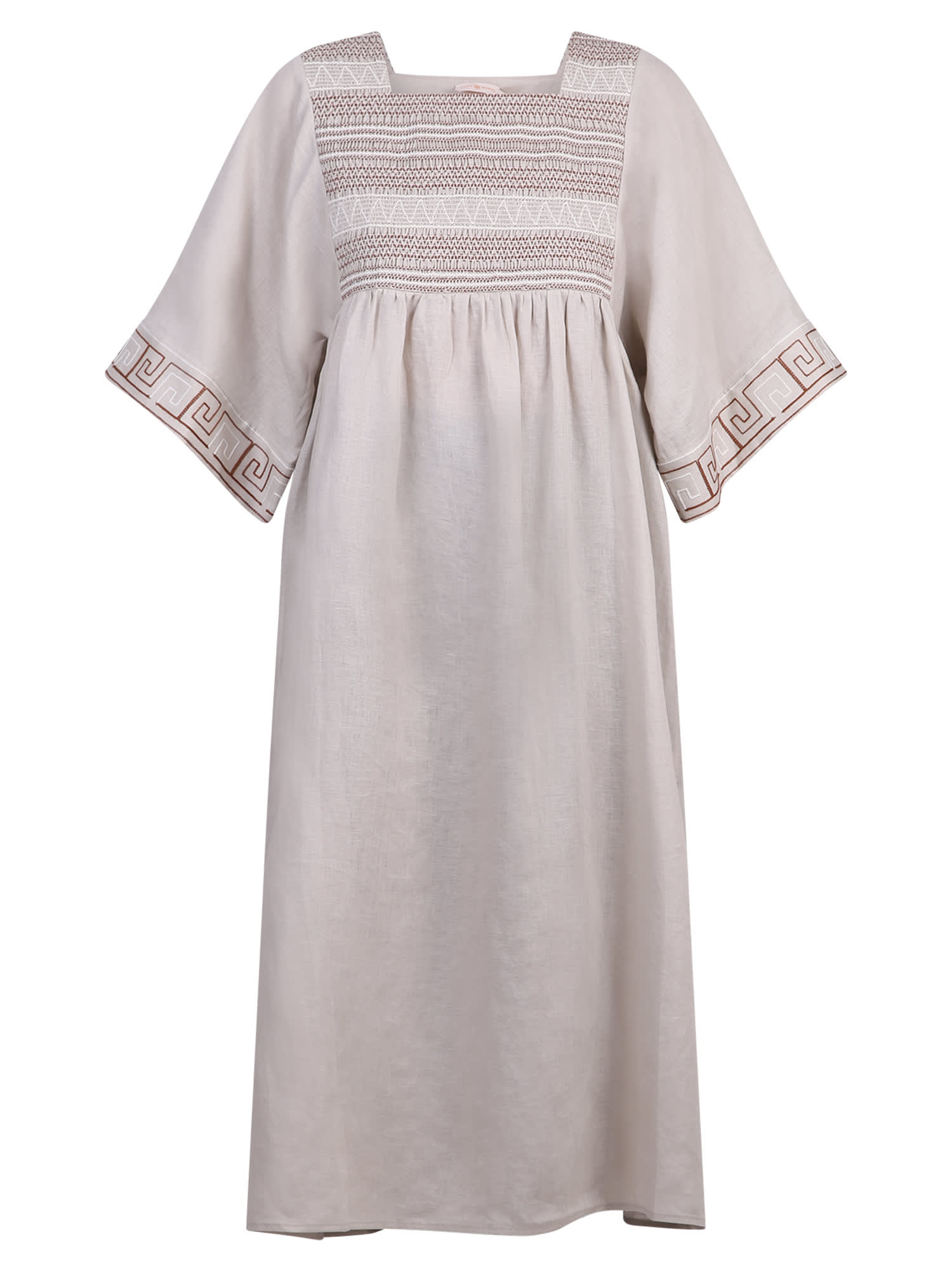Buy Tory Burch Embroidered Dress online, shop Tory Burch with free shipping