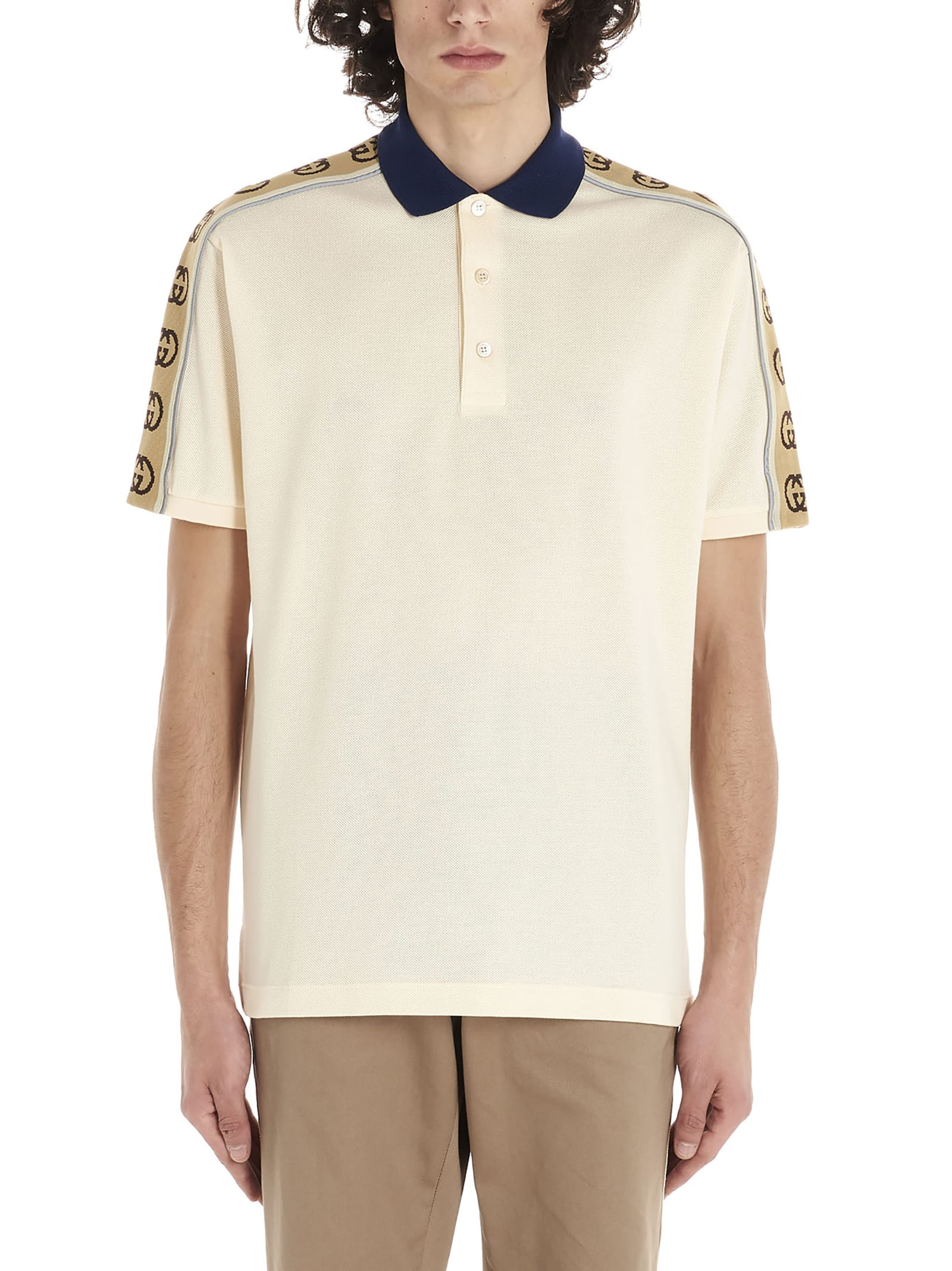 Gucci gucci Trim Polo