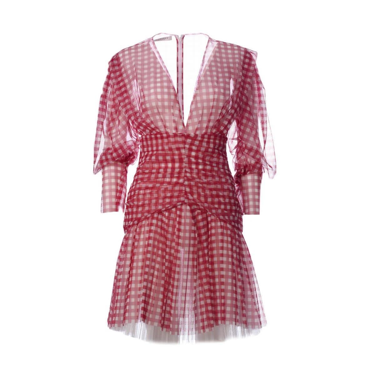 Buy Philosophy di Lorenzo Serafini Check Print Dress online, shop Philosophy di Lorenzo Serafini with free shipping