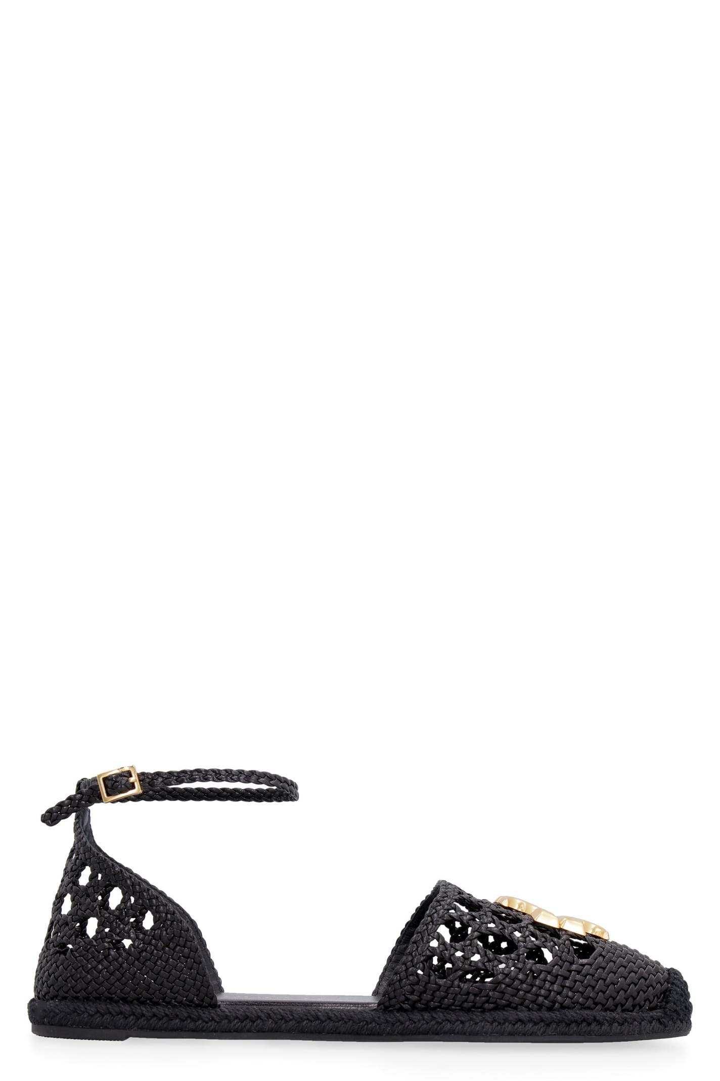 Buy Tory Burch Eleanor Flat Sandals online, shop Tory Burch shoes with free shipping