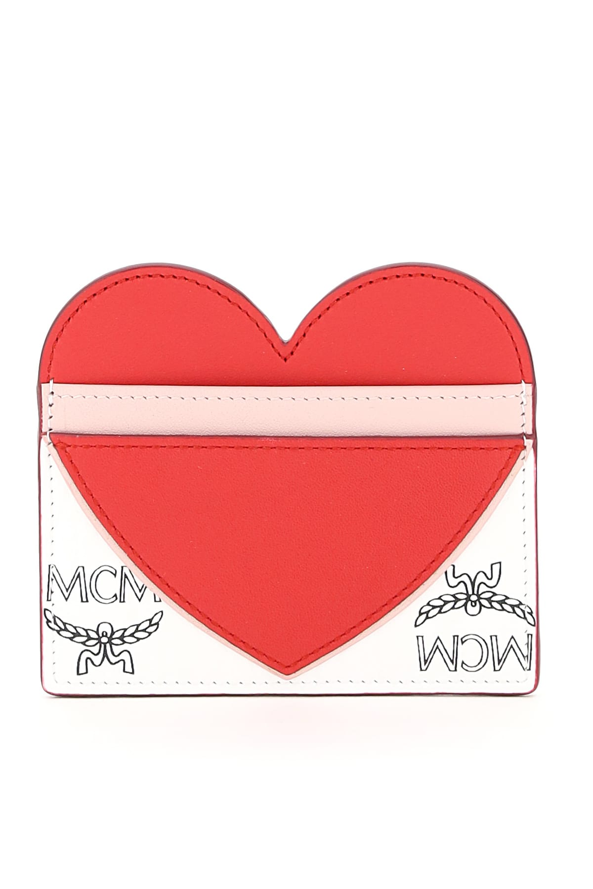 Mcm VISETOS CARD HOLDER WITH HEART