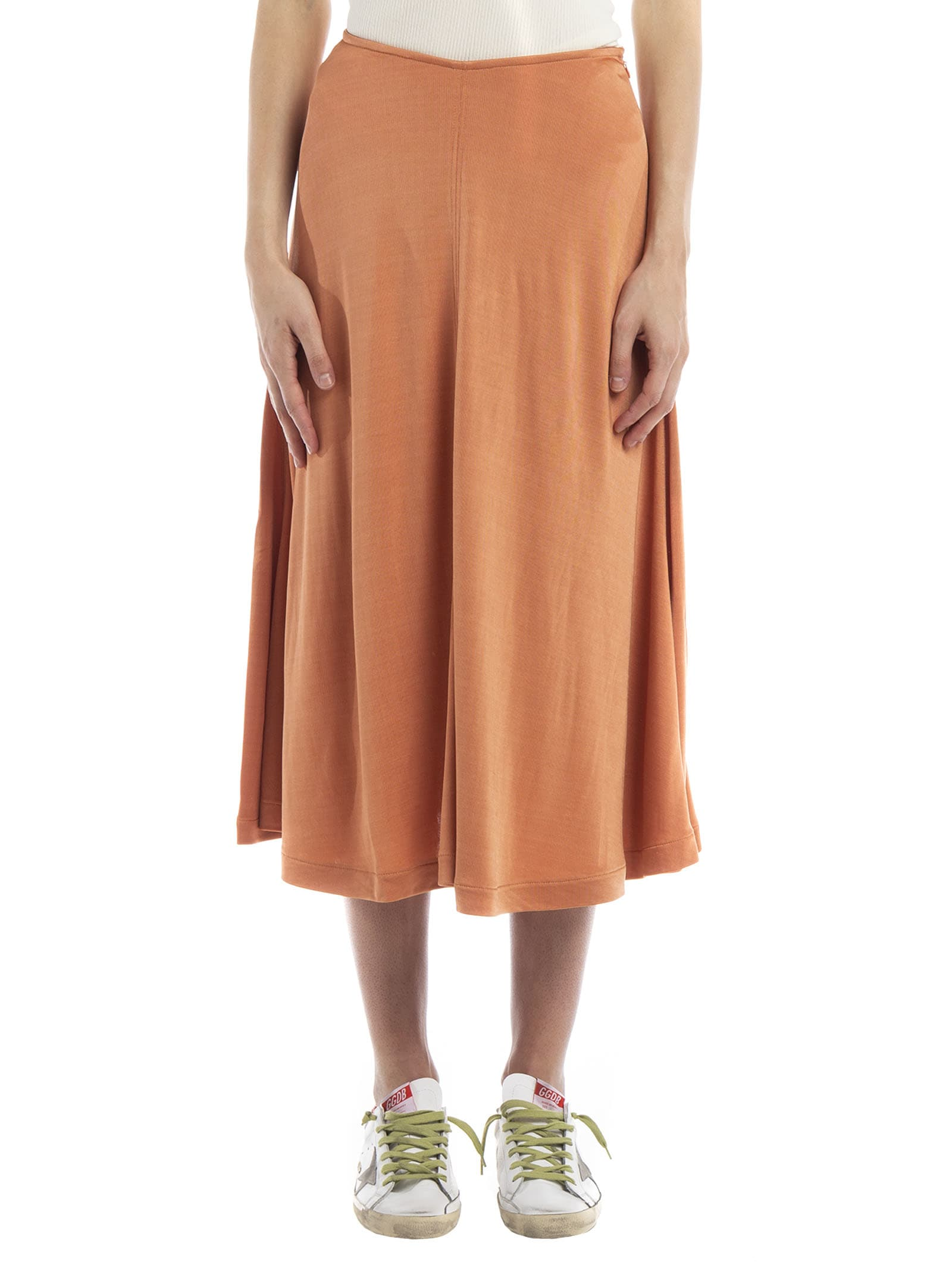 the best attitude 60% discount highly coveted range of Acne Studios Draped Midi Skirt