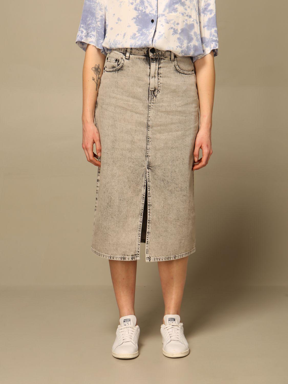 Mcq Skirt Eden High By Mcq Denim Skirt