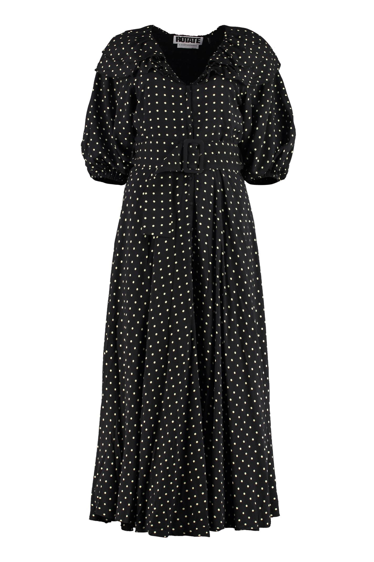 Rotate Birger Christensen Maxi dresses ELLIE SHIRTDRESS