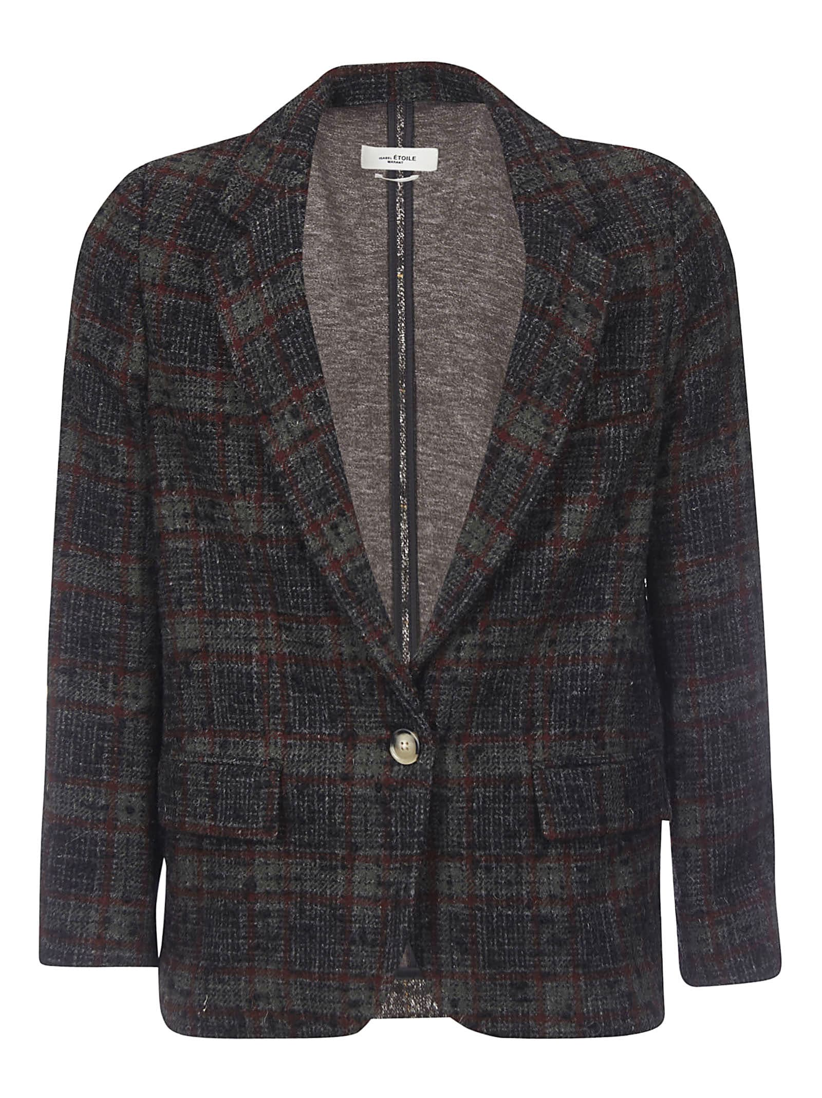 Isabel Marant Étoile Checked Jacket