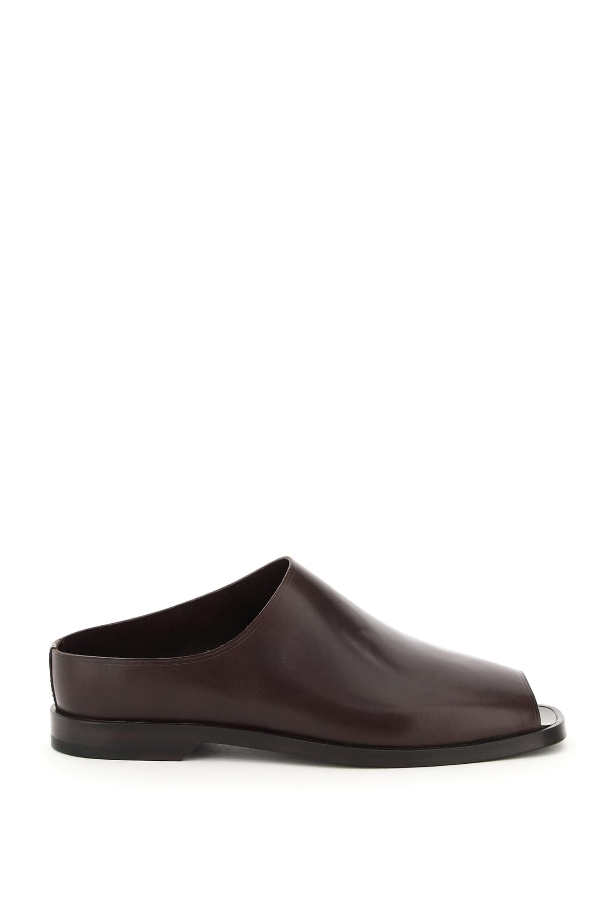 Lemaire LEATHER FLAT MULES