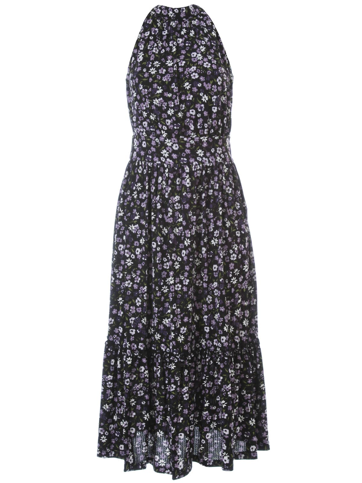 Buy MICHAEL Michael Kors Grdn Patch Tier Midi Dress online, shop MICHAEL Michael Kors with free shipping