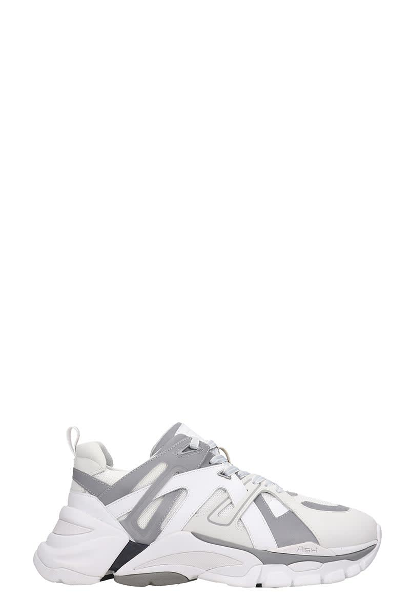 Ash Free 06 Sneakers In White Tech/synthetic