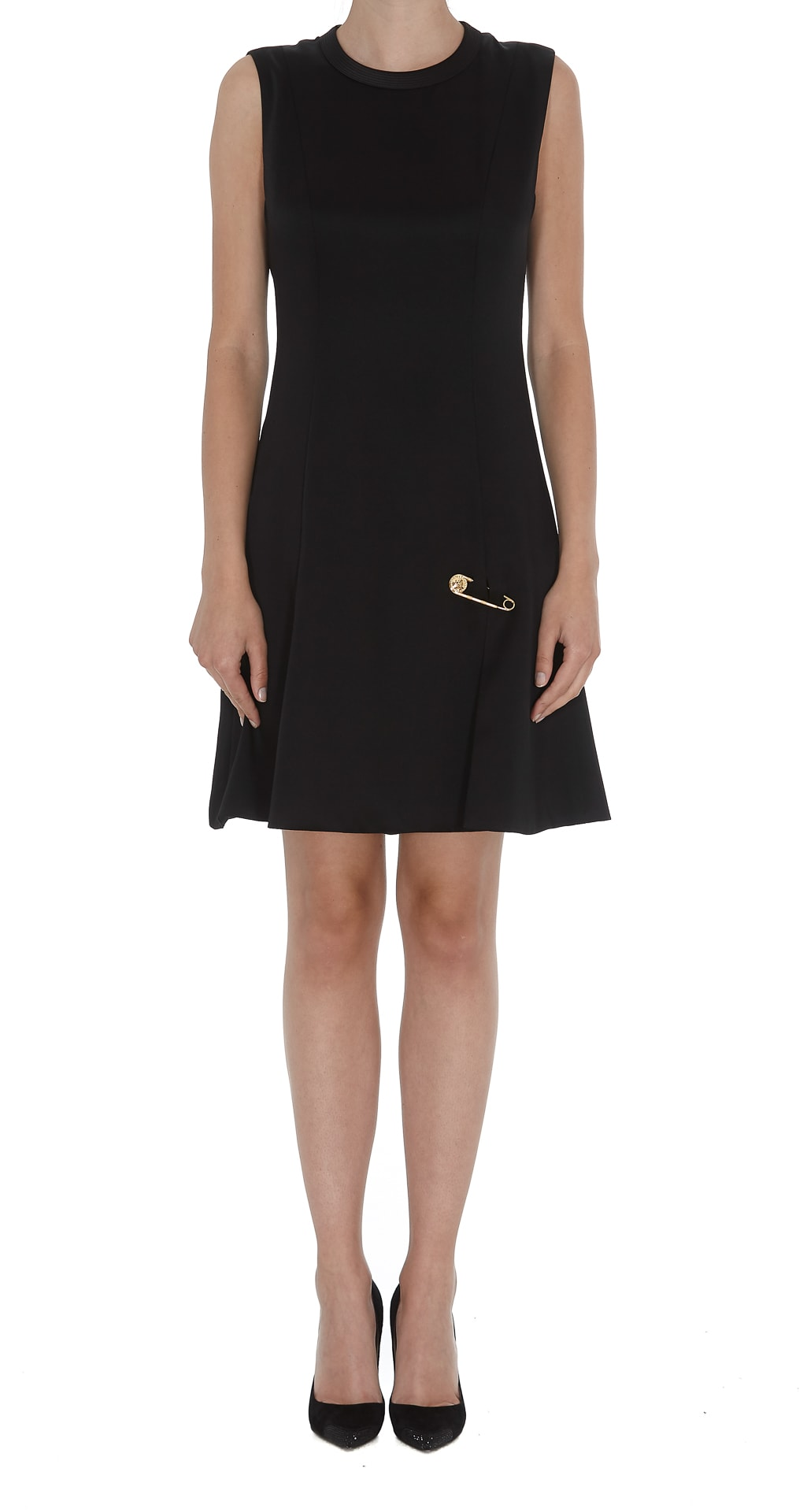Photo of  Versace Medusa Safety Pin Dress- shop Versace  online sales