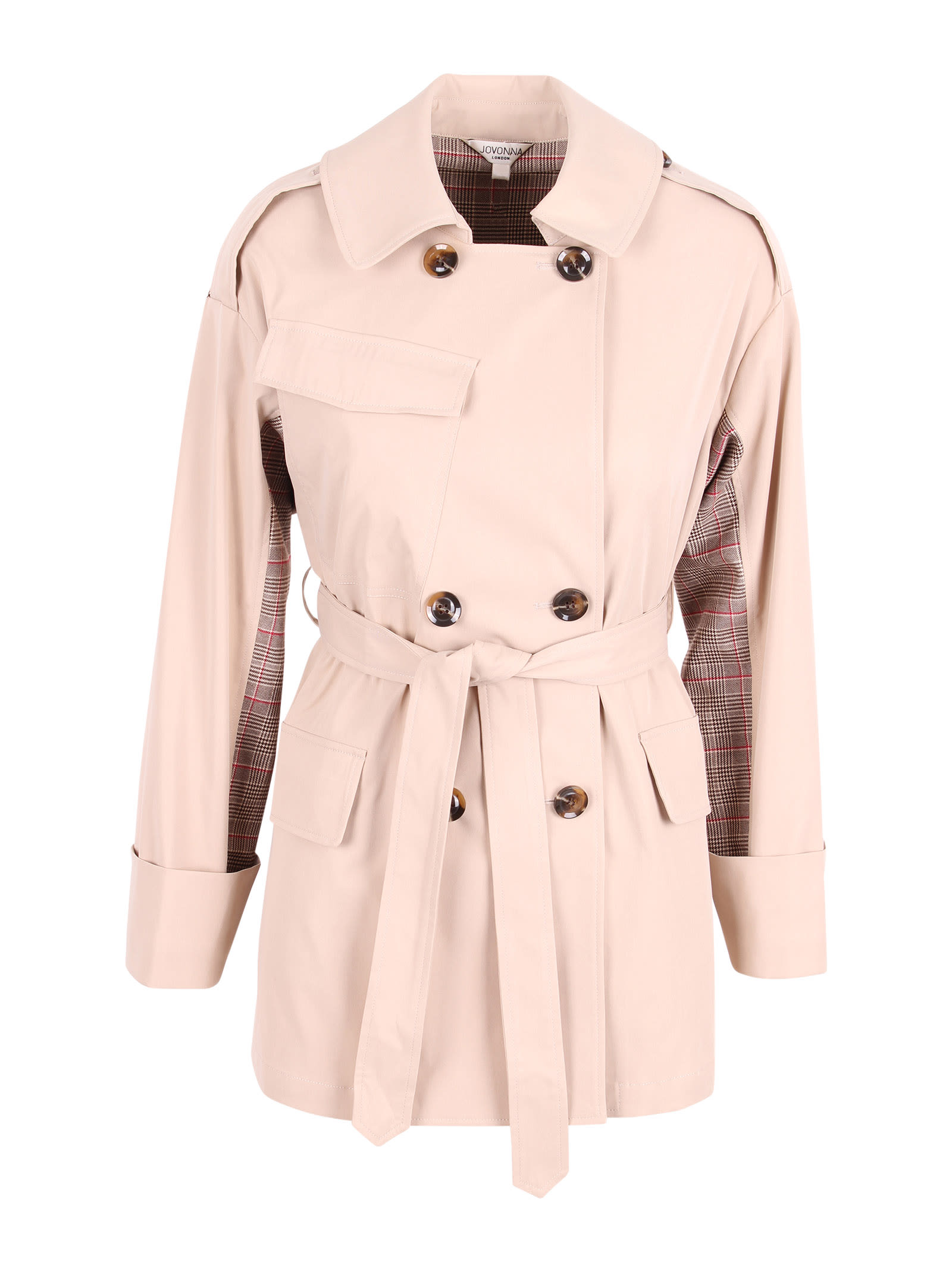 London giza Polyester Trench Coat