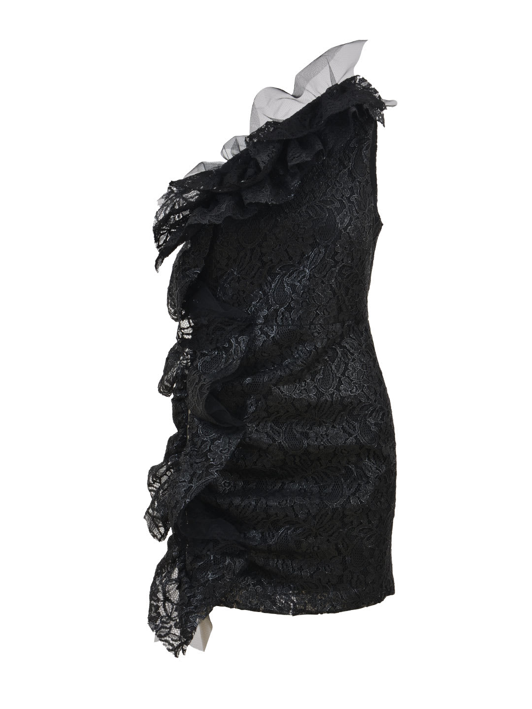 Photo of  MSGM Mini Lace Dress- shop MSGM  online sales